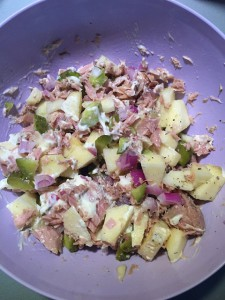 tonijn appel salade