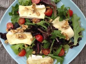 brie walnoten salade