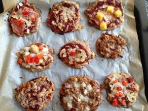 minipizza's na de oven LR